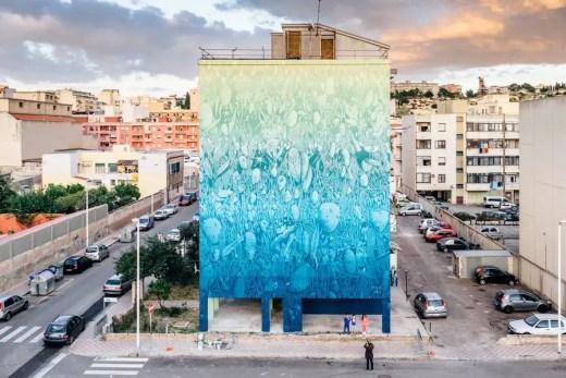 Recoat Artist - Tellas urban artwork