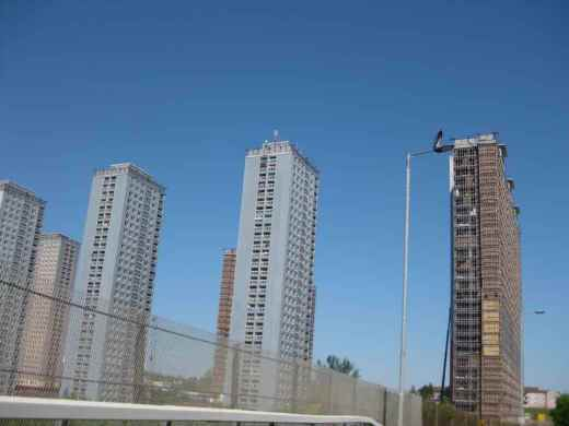 Red Road Flats Glasgow towers