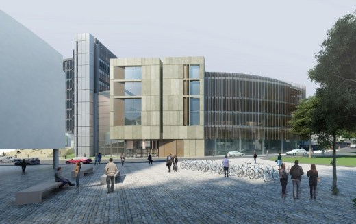 Boyd Orr Building University of Glasgow campus development
