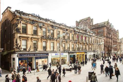 Glasgow Shopping Centre