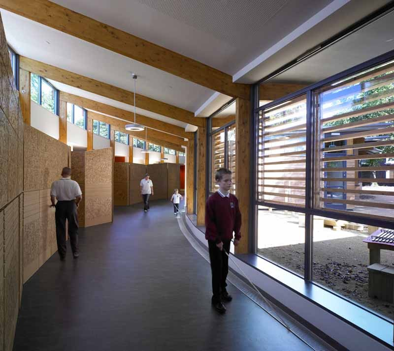 Classroom Design For The Blind ~ Hazelwood school glasgow architecture