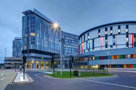 Glasgow hospital building