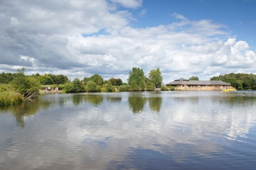 Drumpellier Country Park water