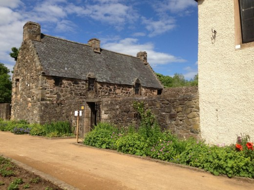 Provan Hall house from garden