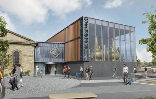 Clydeside Distillery building design