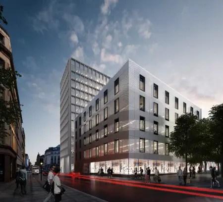 Bath Street Office Building in Glasgow