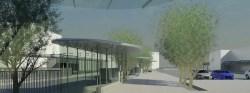 Partick Interchange bus station building