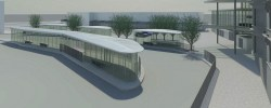 Partick Interchange bus station design