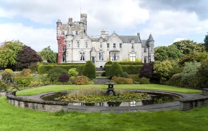Glasgow Castle building