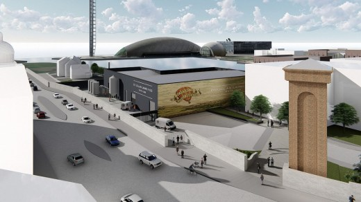 The new Douglas Laing distillery in Glasgow