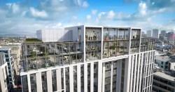 Corunna House Glasgow building design
