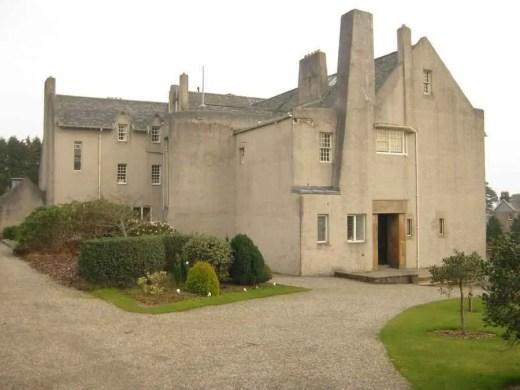 Rennie Mackintosh house in Helensburgh