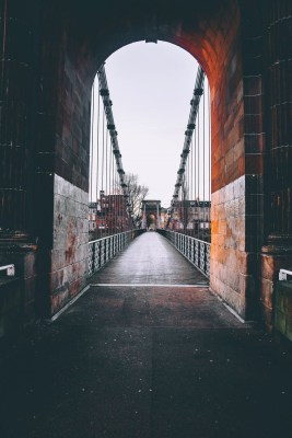 Explore Glasgow's Celebrated Architecture bridge over River Clyde