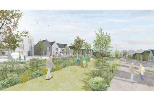 New homes in Cambuslang South Lanarkshire
