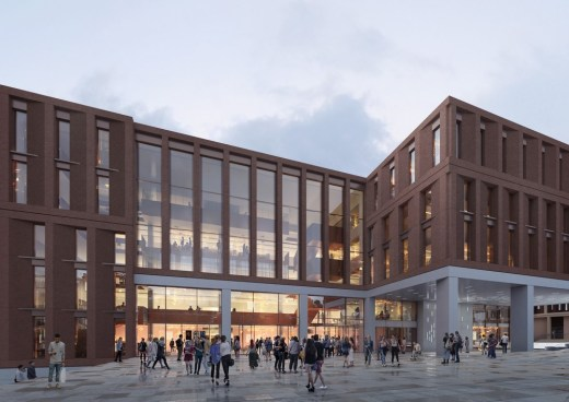 Glasgow University Postgraduate Teaching Hub and Business School building