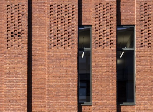 New Gorbals Housing Association brick facade by Page\Park Architects