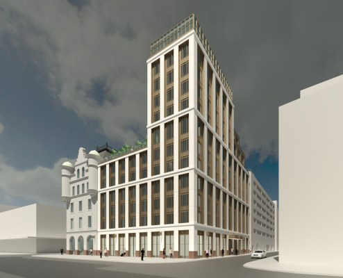 Trongate development for developer Caledon Property Group - Glasgow News 2020