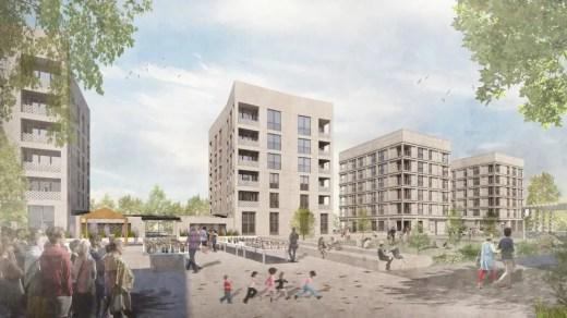 Laurieston Living Glasgow, New Gorbals Housing