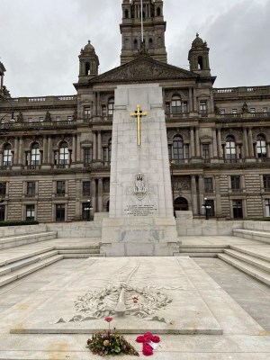 George Square war memorial Glasgow