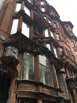 St. Vincent Chambers Glasgow Hatrack building facade
