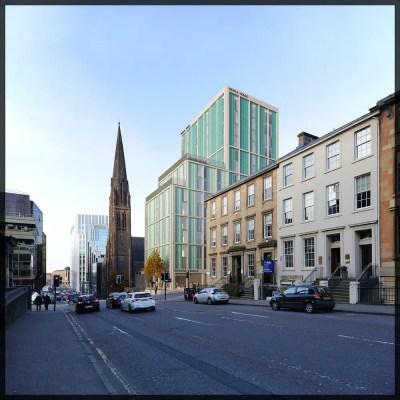 Vienna House Hotel in Glasgow building
