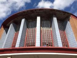 Former Lyceum Cinema Govan Glasgow facade