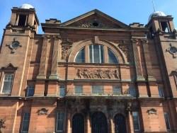 Govan Burgh Halls building sandstone facade