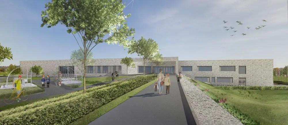 New Boclair Academy Bearsden school building