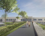 New Boclair Academy Bearsden school building
