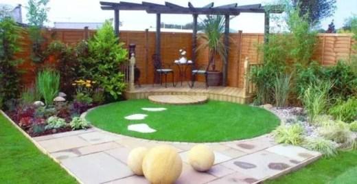 10 Awesome Ideas For Your Small Garden Design pergola