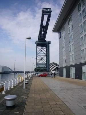 Finnieston Crane Glasgow landmark