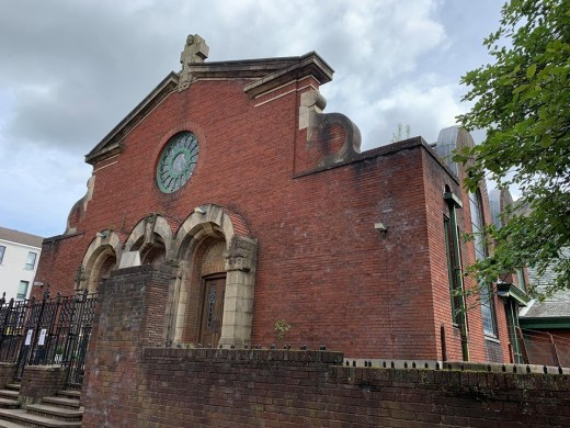 St. Anne RC church Dennistoun Glasgow facade