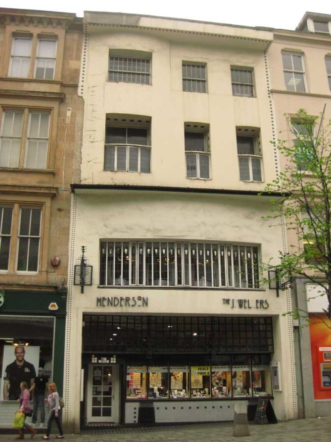 Willow Tea Rooms Glasgow building