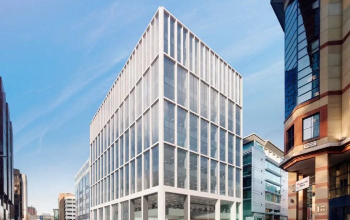Cadworks Glasgow City Centre building design
