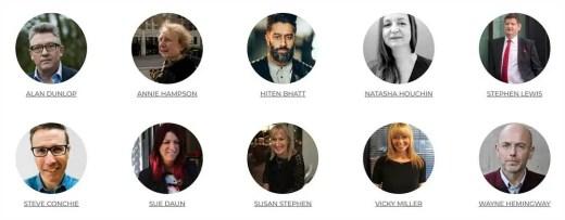 2021 Scottish Design Awards panel