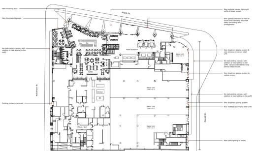 Radisson Blu Hotel Glasgow new plan layout 2021