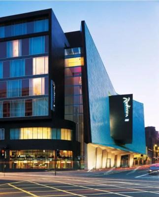 Radisson Blu Hotel Glasgow, SAS Building