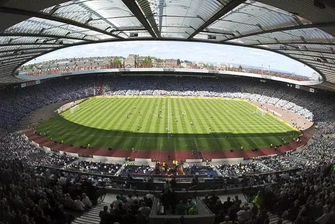 Hampden Park Where is the most beautiful football stadium of Glasgow?