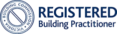 registered building practitioner victoria building commision logo - Glasgow Vendor Pre-Sale Reports Gippsland