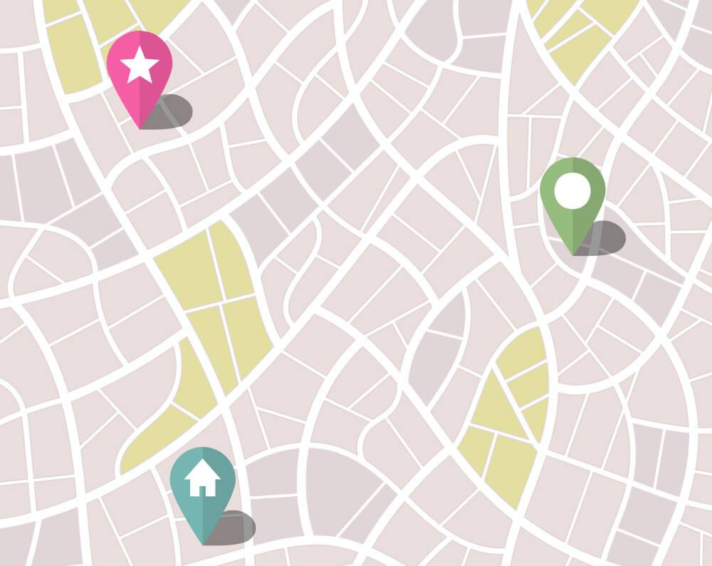 Glasgow Creative Corporate Map Design Image