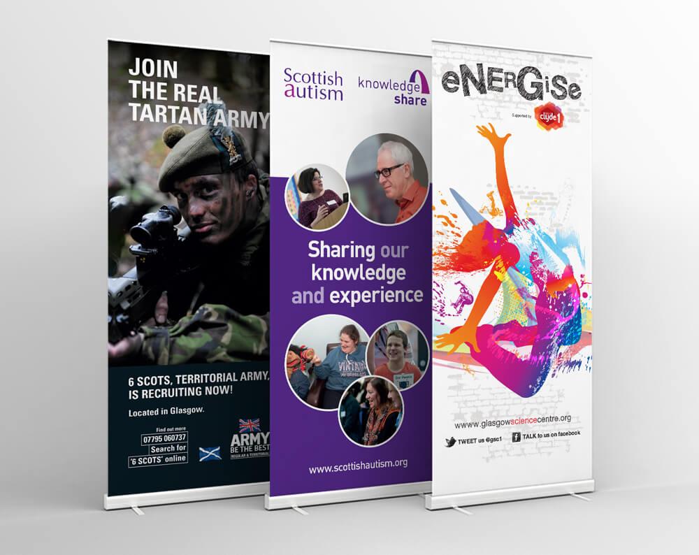 Glasgow Creative Exhibition Materials Image
