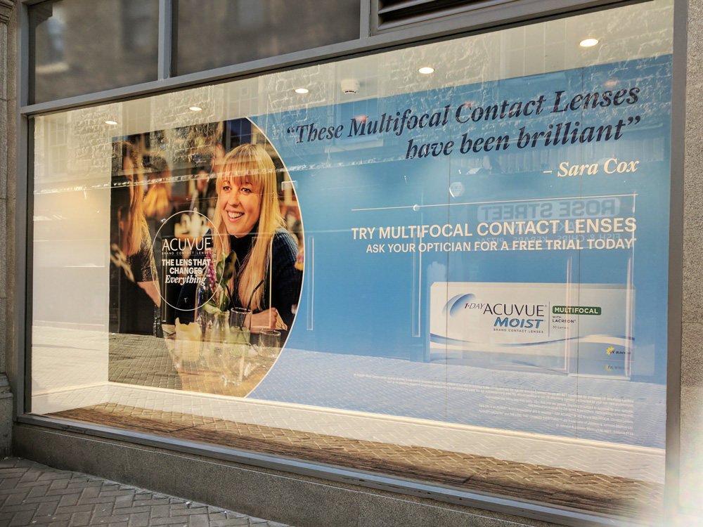 Glasgow Creative Window Graphics Contravision