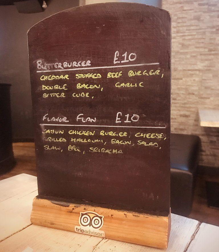 NYC bar and Grill Glasgow menu Specials