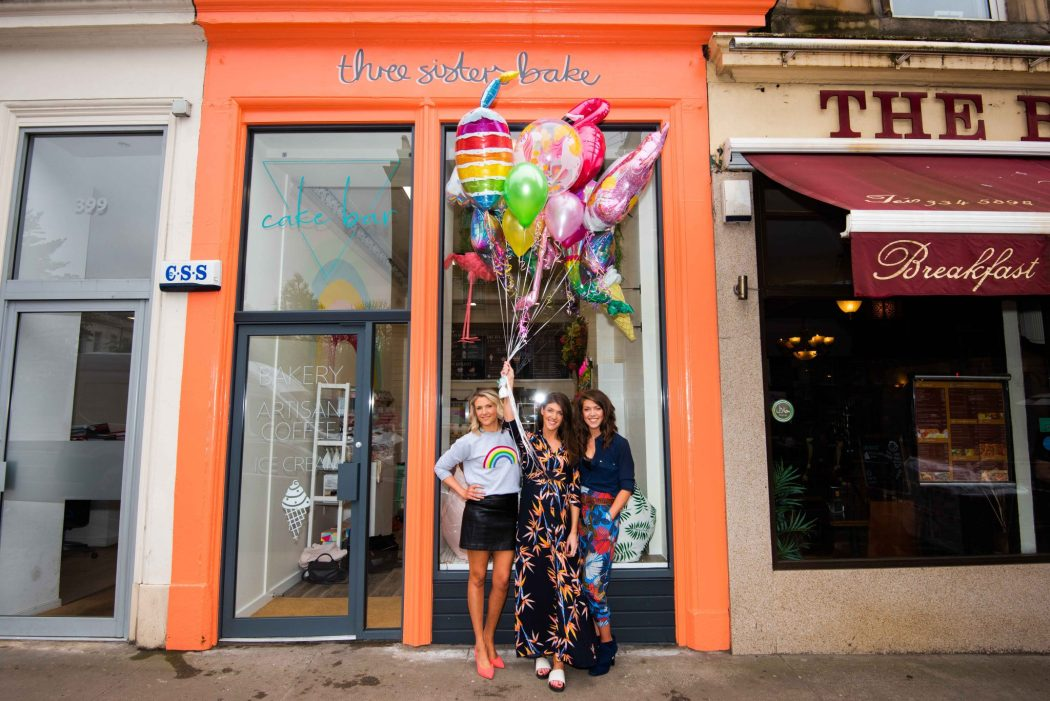 First Look Inside Three Sisters Bakes Cake Bar Glasgowist