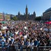 George square crowds