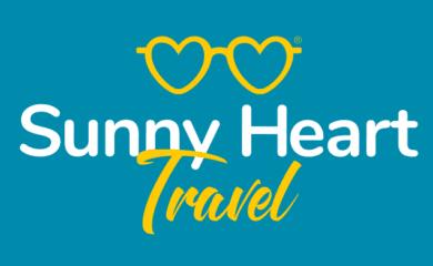 sunny heart travel logo