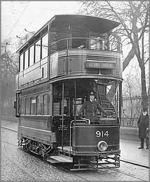 Lady Tram Driver