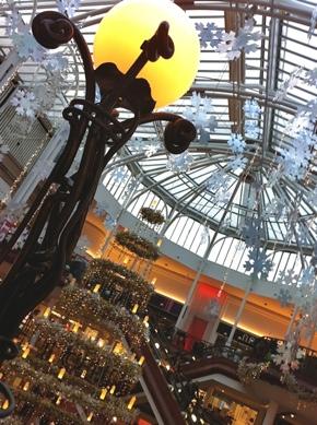 Photo: Princess Square at Christmas.