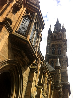 Photo: Glasgow University Building University Avenue.
