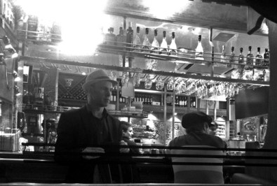 Photo: Jim at Little Italy, Byres Road.